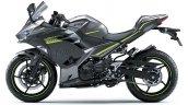 2021 Kawasaki Ninja 400 Grey Lhs