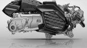 2021 Yamaha Cygnus Gryphus Engine