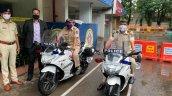 Suzuki Gixxer Sf 250 Bs6 Bikes Mumbai Police