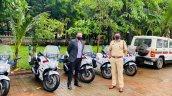 Suzuki Gixxer Sf 250 Bs6 For Mumbai Police