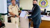 Suzuki Gixxer Sf 250 Bs6 Handed To Mumbai Police