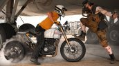 Turbocharged Royal Enfield Himalayan Burnout