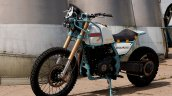 Turbocharged Royal Enfield Himalayan Front 3 Quart