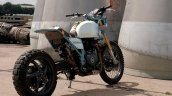 Turbocharged Royal Enfield Himalayan Rear 3 Quarte