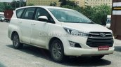 Toyota Innova Crysta Cng Petrol Spotted
