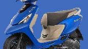 Tvs Scooty Zest 110 Bs6 Matte Blue