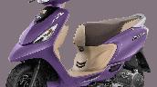 Tvs Scooty Zest 110 Bs6 Matte Purple