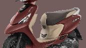Tvs Scooty Zest 110 Bs6 Matte Red