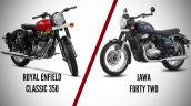 Royal Enfield Classic 350 Vs Jawa Forty Two Featur
