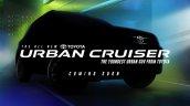Toyota Urban Cruiser Teaser Image