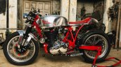 Modified Royal Enfield Classic 500 Left Side