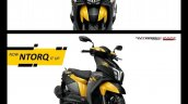 Tvs Ntorq 125 Race Edition Yellow Black