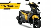 Tvs Ntorq 125 Race Edition Yellow Black Front Righ