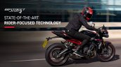 2020 Triumph Street Triple R Action