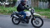 Hero Xpulse 200 Road Test Review Action Side