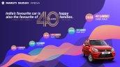 Maruti Suzuki Alto 40 Lakh Sales Milestone