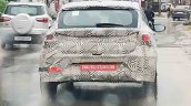 2020 Hyundai I20 Spy Shot Rear
