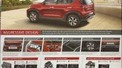 Kia Sonet Brochure Details