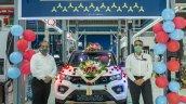 Tata Nexon Ev 1000th Unit