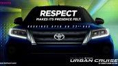 Toyota Urban Cruiser Front Teaser
