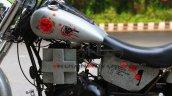 Custom Royal Enfield Corona Warrior Bike Left Side