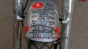Custom Royal Enfield Corona Warrior Bike Rear Fend