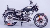 Royal Enfield Meteor 350 Black Rhs
