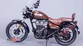 Royal Enfield Meteor 350 Brown Lhs