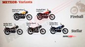 Royal Enfield Meteor 350 Variants