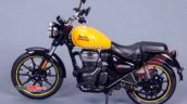 Royal Enfield Meteor 350 Yellow