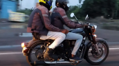 Next Gen Royal Enfield Classic 350 Test Mule