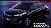 Toyota Yaris Black Edition Front Lt