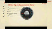 Royal Enfield Meteor 350 Instrument Cluster Detail