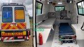 2020 Tata Winger Ambulance Rear Interior