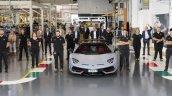 Lamborghini Aventador Factory