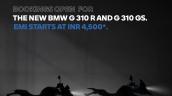 Bmw G 310 R G 310 Gs Emi Offer