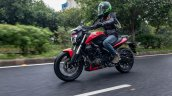 Bajaj Dominar 250 Review Action Front Left