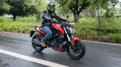 Bajaj Dominar 250 Review Action Front Right