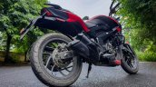 Bajaj Dominar 250 Review Exhaust