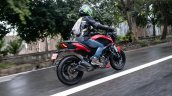 Bajaj Dominar 250 Review Rear Action