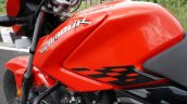 Hero Glamour Bs6 First Ride Review Fuel Tank