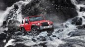 Mahindra Thar Waterfall