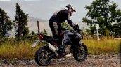 Ducati Multistrada V4 Spy Shot Rear Right