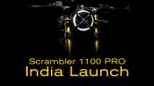 Bs6 Ducati Scrambler 1100 Pro Teaser
