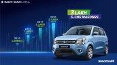 Maruti Wagonr S Cng 3 Lakh Sales