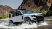 New Land Rover Defender Front 3 Quarter