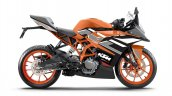 Ktm Rc 200 Electronic Orange