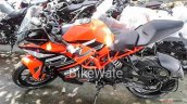 Ktm Rc 200 New Colour Spy Shot Left Side