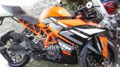 Ktm Rc 200 New Colour Spy Shot Right Side