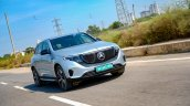 Mercedes Benz Eqc Action Shot